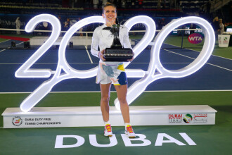 Cum a ales Simona Halep să sărbătorească câștigarea turneului de la Dubai