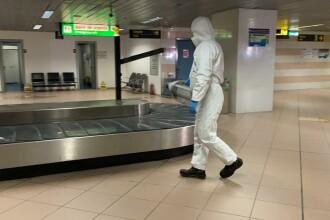 Pasagerii care vin din Italia în România, așteptați cu chestionare în aeroport