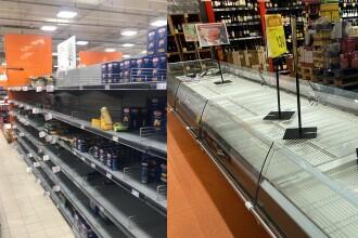 Criză în comunitățile de români din Italia. Supermarketurile nu mai au mâncare