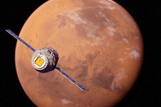 Planeta Marte va fi extrem de luminoasă pe cerul nopţii. Când o putem vedea