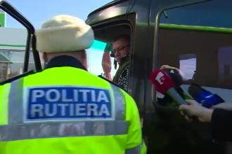 Polițiștii din Galați verifică toate persoanele venite din străinătate la intrarea în județ