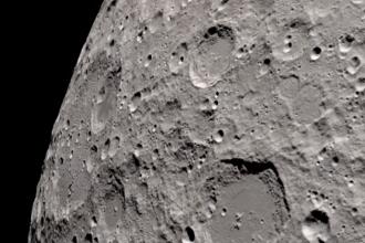 Imagini spectaculoase publicate de NASA. Cum arată luna, văzută de astronauții din spațiu
