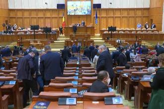 Parlamentarii au avut prima zi de lucru. Bugetul de stat și majorarea pensiilor, încă nerezolvate