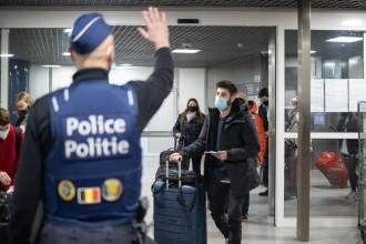 Mai mulţi răniţi la o staţie de metrou din Bruxelles. Un suspect înarmat cu un cuţit, arestat