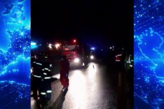 Accident grav. O persoană a decedat și alte 3 au fost rănite, după ce microbuzul lor a fost lovit de un camion
