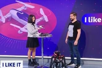 """""""Atacul"""" dronelor, la iLikeIT. Care este preferata Iuliei Ionescu"""