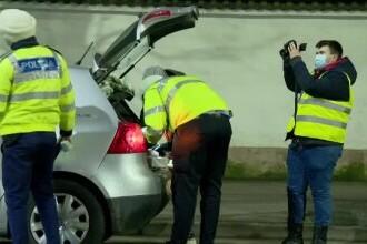 Razie în București. În 2 zile au fost depistați 7 șoferi băuți și 7 drogați