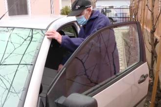 """Cum a trecut de testare Nea Mihai, șoferul de 97 de ani care nu a văzut când a lovit un pieton. """"Toți se cam miră de mine"""""""