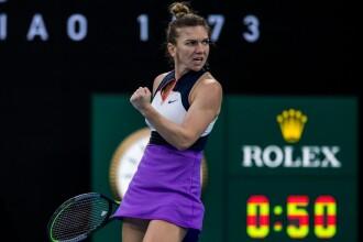 Victorie dramatică pentru Halep împotriva australiencei Tomljanovic, în turul doi la Australian Open