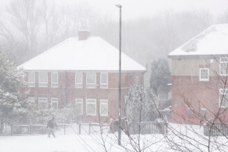 Marea Britanie a înregistrat cea mai scăzută temperatură de peste două decenii: minus 22,9 de grade Celsius