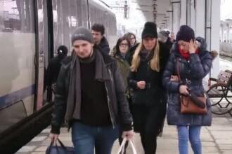 Gratuitatea la tren pentru studenți, înlocuită cu o reducere de 50%. Proteste în mai multe orașe din țară