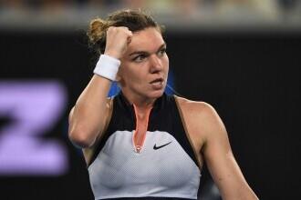 Simona Halep s-a calificat în optimile turneului Australian Open