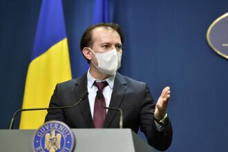 Premierul Cîțu: România merge în direcţia unei relaxări, dar cu o singură condiţie