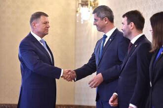 Întâlnire între Iohannis și liderii coaliției de guvernare. Barna: Tema va fi cel mai probabil bugetul