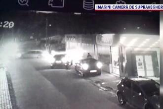 Incident șocant în Argeș. Un bărbat a avariat o mașină, după care l-a lovit și pe proprietarul acesteia