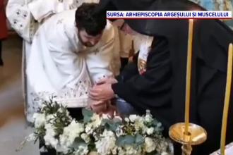 Petiţie pentru modificarea ritualului botezului, depusă la Patriarhie. Peste 60.000 de oameni au semnat-o