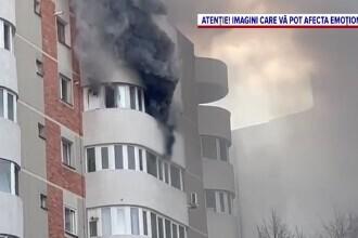 Scene șocante în Constanța. O femeie a murit după ce a sărit de la etajul 6, din foc