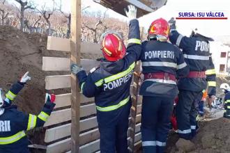 Un tânăr de 27 de ani din Vâlcea a murit îngropat de viu. Ce s-a întâmplat