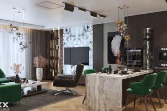 Suma uriașă cu care se vinde un penthouse de 365 de metri pătraţi în București