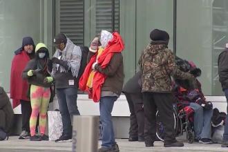 Criză umanitară în SUA, din cauza valului de ger. Sute de mii de texani stau în frig, pe întuneric
