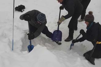 Meteorologii avertizează că riscul de avalanșă în masivele Făgăraș și Bucegi este de gradul 5
