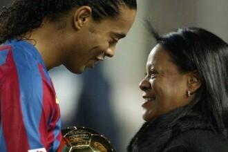Ronaldinho, în doliu. Mama fostului fotbalist a murit după ce s-a infectat cu noul coronavirus