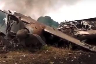 Avion militar prăbușit în Nigeria. Șapte oameni au murit