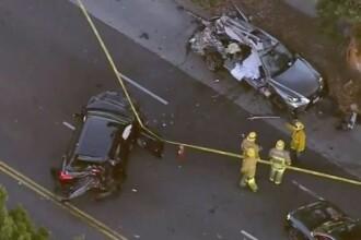 Accident la 200 km/h în Los Angeles. Tânără ucisă de un șofer de 17 ani cu Lamborghini