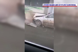 Accident în lanţ pe un drum din Iaşi, din cauza ceţii şi a poleiului. Zeci de oameni, în pericol de moarte