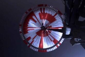 Mesajul ascuns de NASA în modelul parașutei folosită de roverul Perseverance pentru a ateriza pe Marte