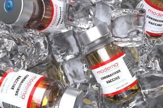 O nouă tranșă de vaccinuri Moderna a ajuns în țară. Când vor fi date în folosință