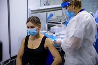 """Simona Halep a primit vaccinul anti-COVID. """"Mă simt mai în siguranță"""""""