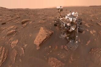 FOTO. Imagine panoramică spectaculoasă de pe Marte, publicată de NASA