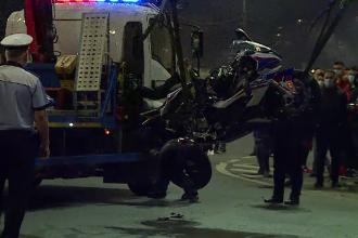 Accident tragic în București. Cine este polițistul care a murit chiar în fața Parlamentului