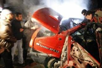 Lupte inversunate, luni seara, chiar in interiorul orasului Gaza