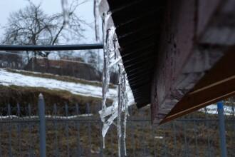 Recordul acestei ierni: minus 30 de grade Celsius la Intorsura Buzaului