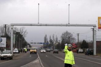 Doua autoturisme si un TIR, implicate intr-un grav accident pe DN1