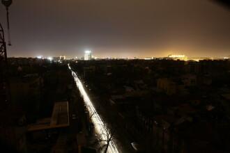 O buna parte din Bucuresti s-a cufundat sambata seara in bezna