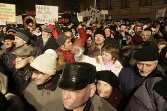 Noapte violenta in capitala Letoniei!