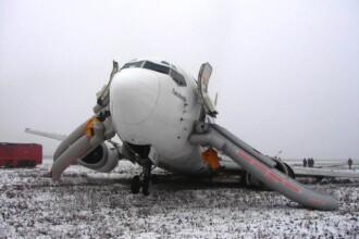 Patru morti si cinci raniti in urma coliziunuii a doua avioane in Daghestan