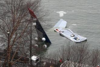 E oficial! Miracolul de pe raul Hudson s-a datorat unui pilot cu sange rece