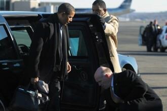 Barack Obama, cel mai bine pazit presedinte american din istorie!
