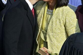 De Ziua Indragostitilor cuplul Obama s-a intors acasa, la Chicago