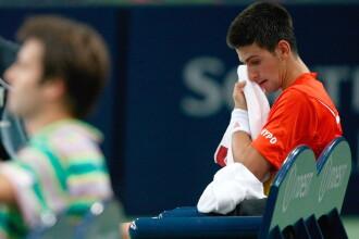 Novak Djokovici a oferit momentul anului la marginea terenului de tenis. Gest impresionant pentru baiatul cu umbrela. VIDEO