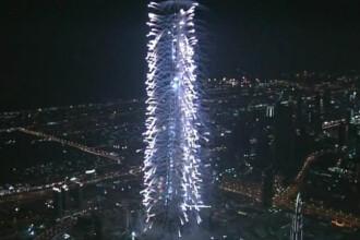 Cea mai inalta cladire din lume, inaugurata in Dubai! Imagini spectaculoase