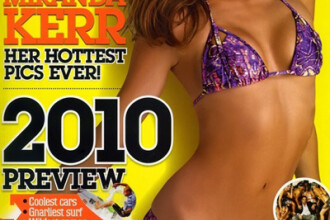 Miranda Kerr incepe anul intr-un stil sexy!