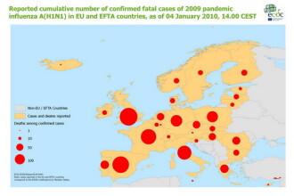 Virusul AH1N1 a ucis 1934 de oameni in Europa