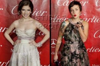 Covorul rosu de la Festivalul de Film Palm Springs: feminitate si glamour