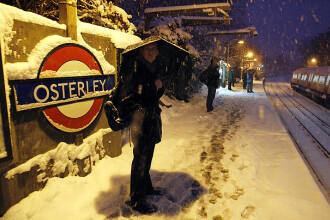 Iarna in Europa: Marea Britanie a inghetat complet, -41 grade in Norvegia