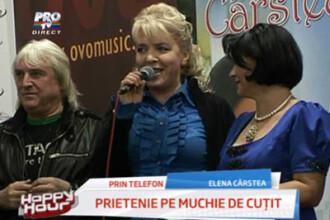 Prietenie pe muchie de cutit: Elena Carstea si Silvia Dumitrescu